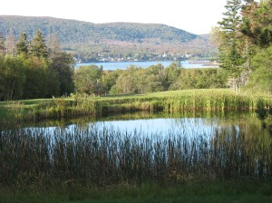 View from the 18th Tee of the Annapolis Royal Golf & Country Club